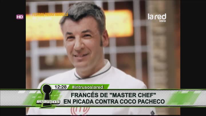 Chef franc s contra coco pacheco la red for Chef en frances